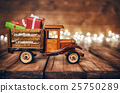 presents on toy car 25750289