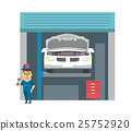 vector, vectors, mechanic 25752920