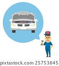 mechanic, person, vector 25753645