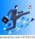 Put the ball in the game business concept 25755518