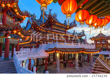 Thean Hou Temple on the Mid-Autumn Festival 25756230