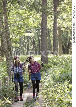 Women trekking 25764770