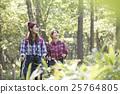 女人徒步旅行 25764805
