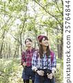 女人徒步旅行 25764844