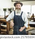 Carpenter Craftsman Handicraft Wooden Workshop Concept 25765694