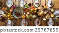 Thanksgiving Celebration Traditional Dinner Setting Food Concept 25767855