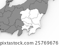 map of japan, map, region 25769676