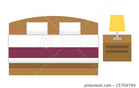 Bed [Flat human series] 25769799