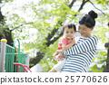 女孩和母親 25770626