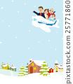 เครื่องบินสำหรับครอบครัวเดินทางในฤดูหนาว 25771860