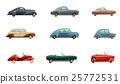 Retro Car Set 25772531