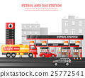 气体 煤气 站 25772541