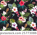 flower,tropical,pattern 25773086