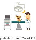 矢量 動物醫院 男人 25774811