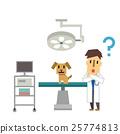 矢量 動物醫院 男人 25774813