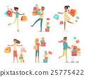 shopping,vector,flat 25775422