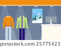 Clothes Shop Showcase Concept Vector Illustration. 25775423