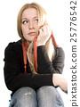pretty blonde 25776542