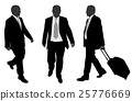 business people walking 25776669