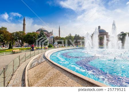 Fountain near Sophia basilica museum in Istanbul 25779521