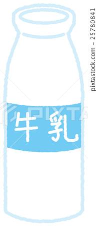 Milk bottle 25780841
