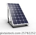 Solar panel, 3D rendering 25782252