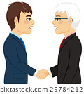 Shaking Hands Partnership 25784212