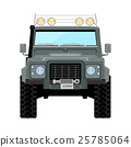 khaki offroad car truck 4x4 25785064