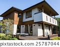 木甲板 房 房子 25787044