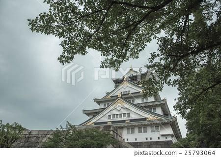 大阪城塔 25793064