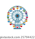 ferris icon vector 25794422