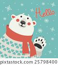 vector, polar, bear 25798400