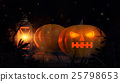 Halloween pumpkin and lantern 25798653
