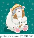 polar, bear, animal 25798661