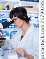 analyzing, scientist, laboratory 25799285