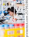 analyzing, scientist, laboratory 25799286
