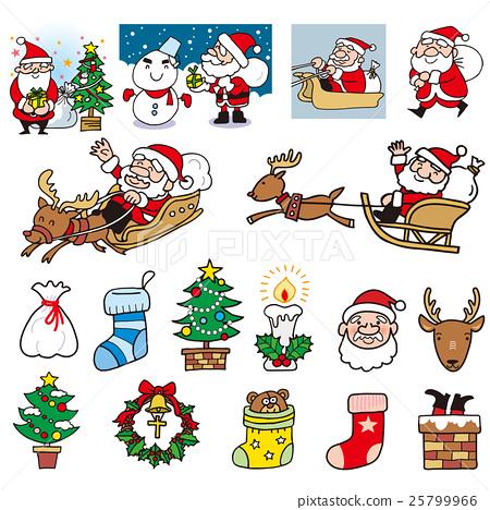 크리스마스, 성탄절, 산타 25799966