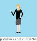 Business Woman of  vector 25800760