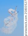 戰鬥機 飛翔 藍色衝擊波 25803527