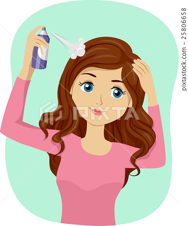 Teen Girl Dry Shampoo Spray 25806658