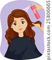 Teen Girl Salon Hair Spray 25806665
