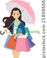 Teen Girl Shop Umbrella 25806666