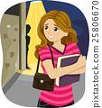 Teen Girl Stalker 25806670