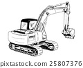 excavator 25807376