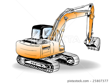 excavator 25807377