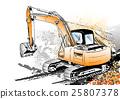 excavator 25807378