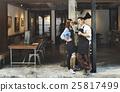 barista, coffee, shop 25817499