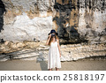 Girl Camera Photographer Focus Shooting Nature Concept 25818197