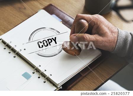 Copy Duplicate Print Scan Transcript Counterfoil Concpet 25820377