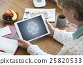 Health Wellness Digital Tablet Concept 25820533